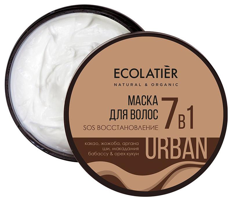 Купить Маска для волос Ecolatier SOS Восстановление 7 в 1 380 мл