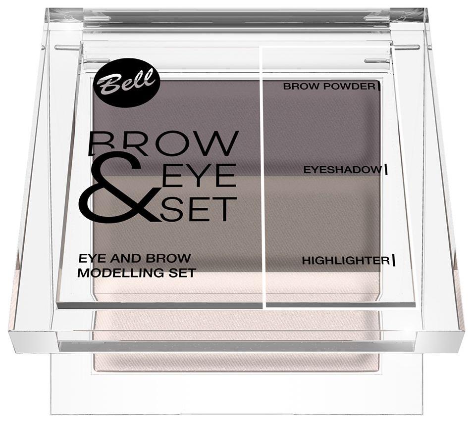 Тени для бровей Bell Brow And Eye Modelling Set 03 25 гр
