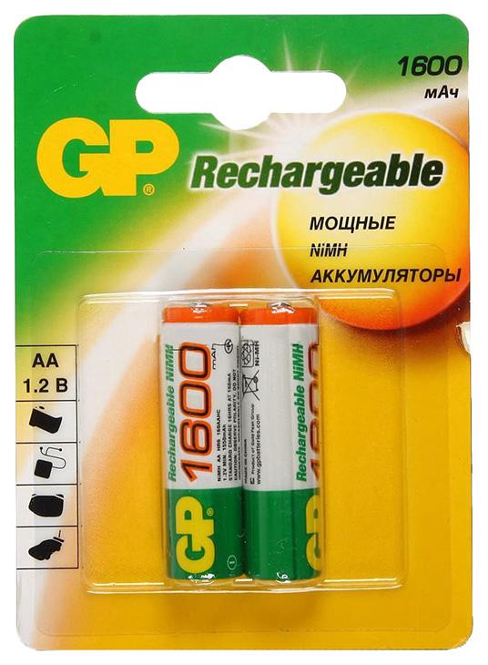 Аккумуляторная батарея GP 160AAHC BL2 2 шт