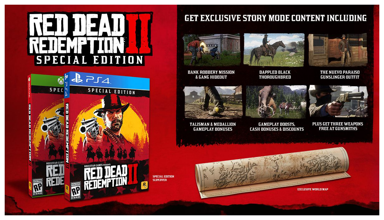 Игра для Xbox One Red Dead Redemption 2 Special Edition фото