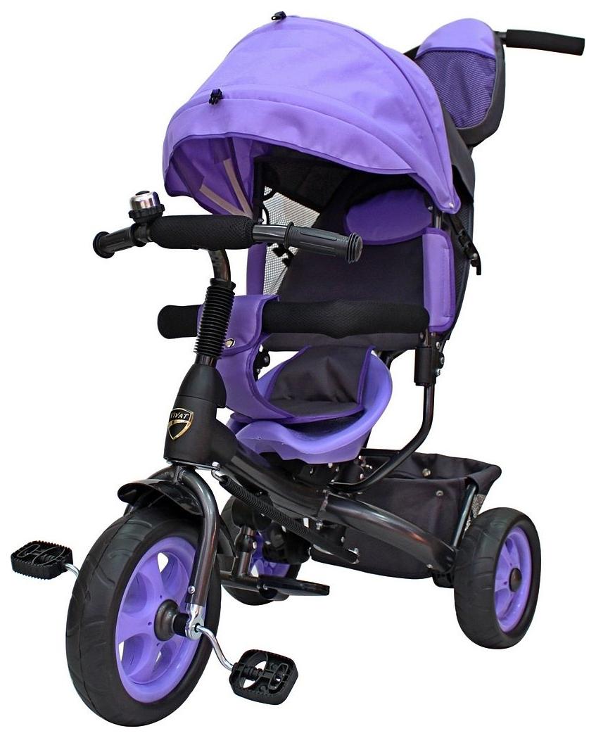 Велосипед трехколесный Galaxy Лучик Vivat Фиолетовый