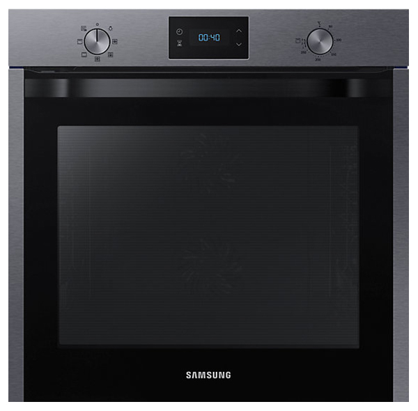 Встраиваемый электрический духовой шкаф Samsung NV75K3340RG Silver/Black