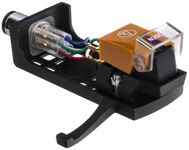 Головка звукоснимателя с хедшеллом Audio Technica VM530EN/H