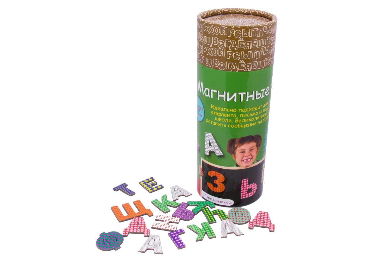 Купить Магнитная игра The Purple Cow буквы русские, Семейные настольные игры