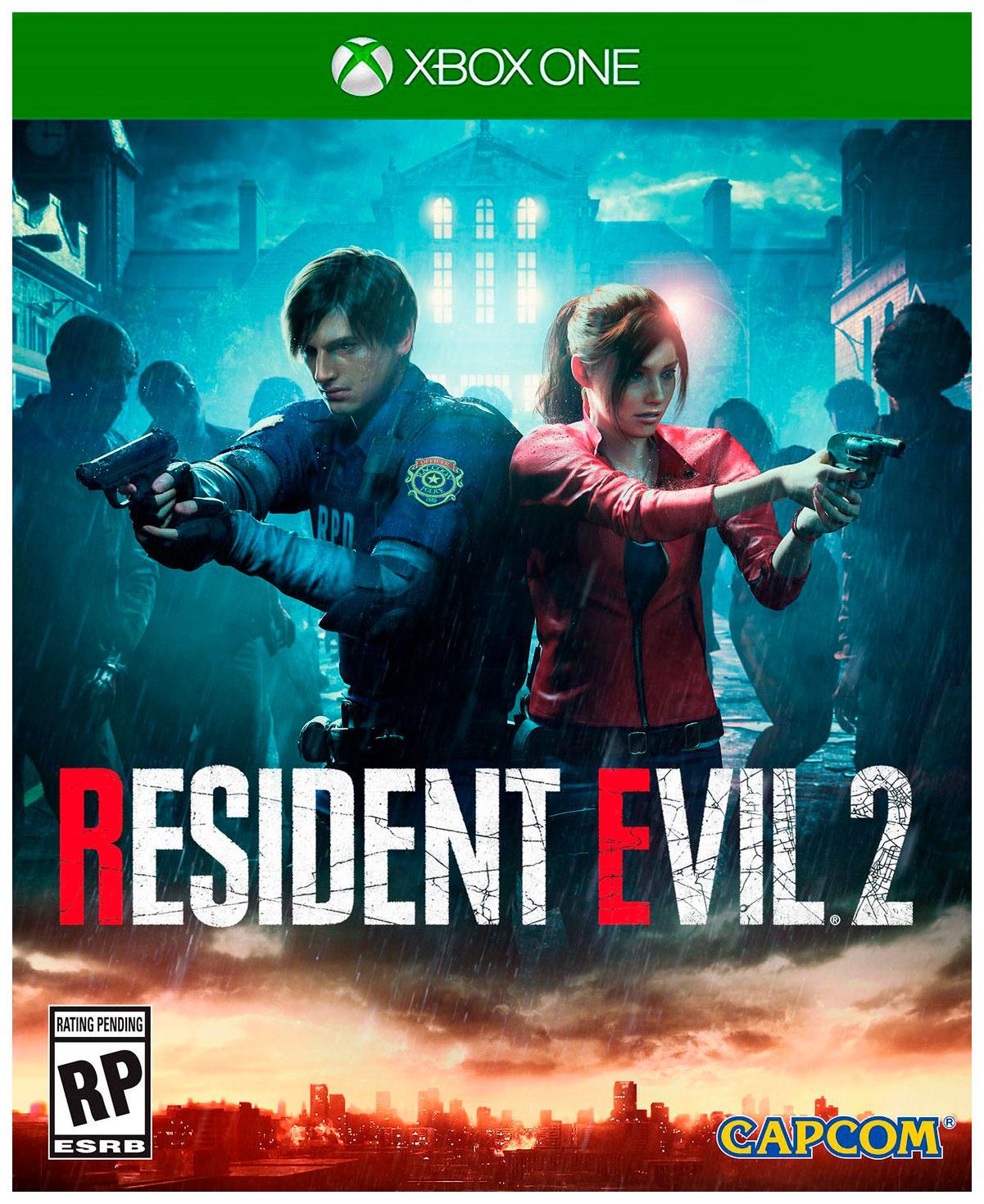 Игра Resident Evil 2 для Xbox One Capcom