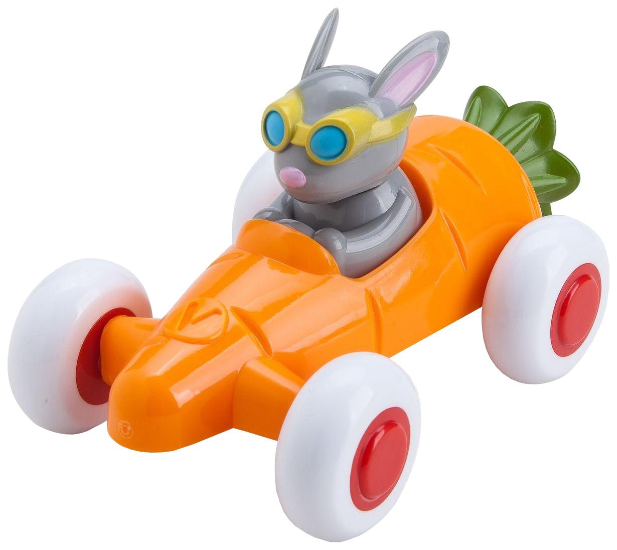 Купить Viking toys Машинка-морковка 14 см, с Зайчиком, в подарочной упаковке, арт. 81361, Игрушечные машинки