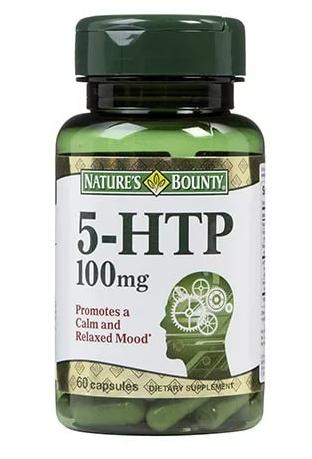 Нэйчес Баунти 5 гидрокситриптофан капсулы 100
