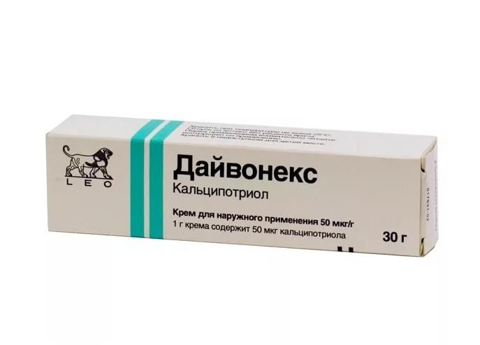 Дайвонекс мазь 50 мкг/г 30 г