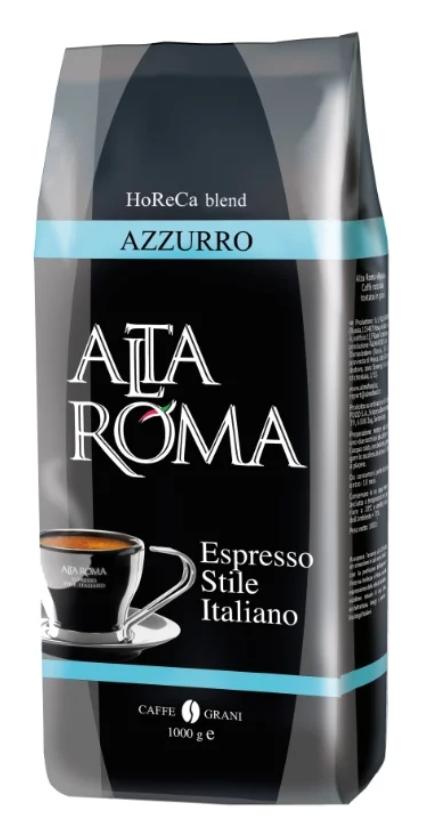 Кофе в зернах Alta Roma azzurro 1 кг фото