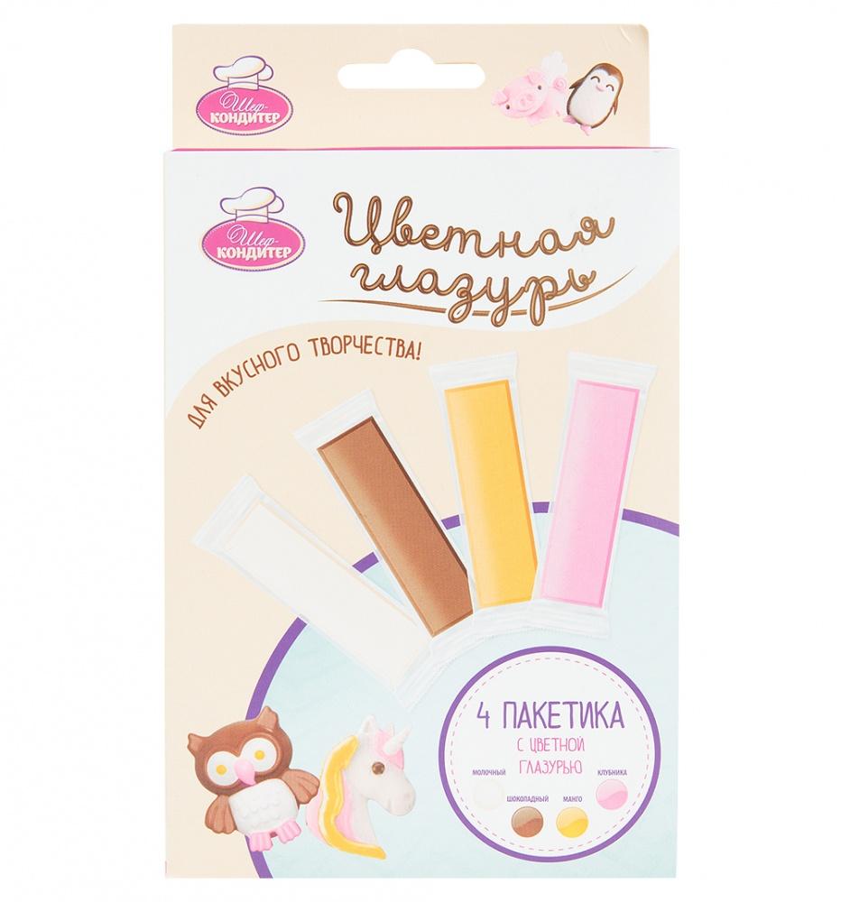 Набор шоколадной глазури для шоколадной ручки Шеф-Кондитер фото