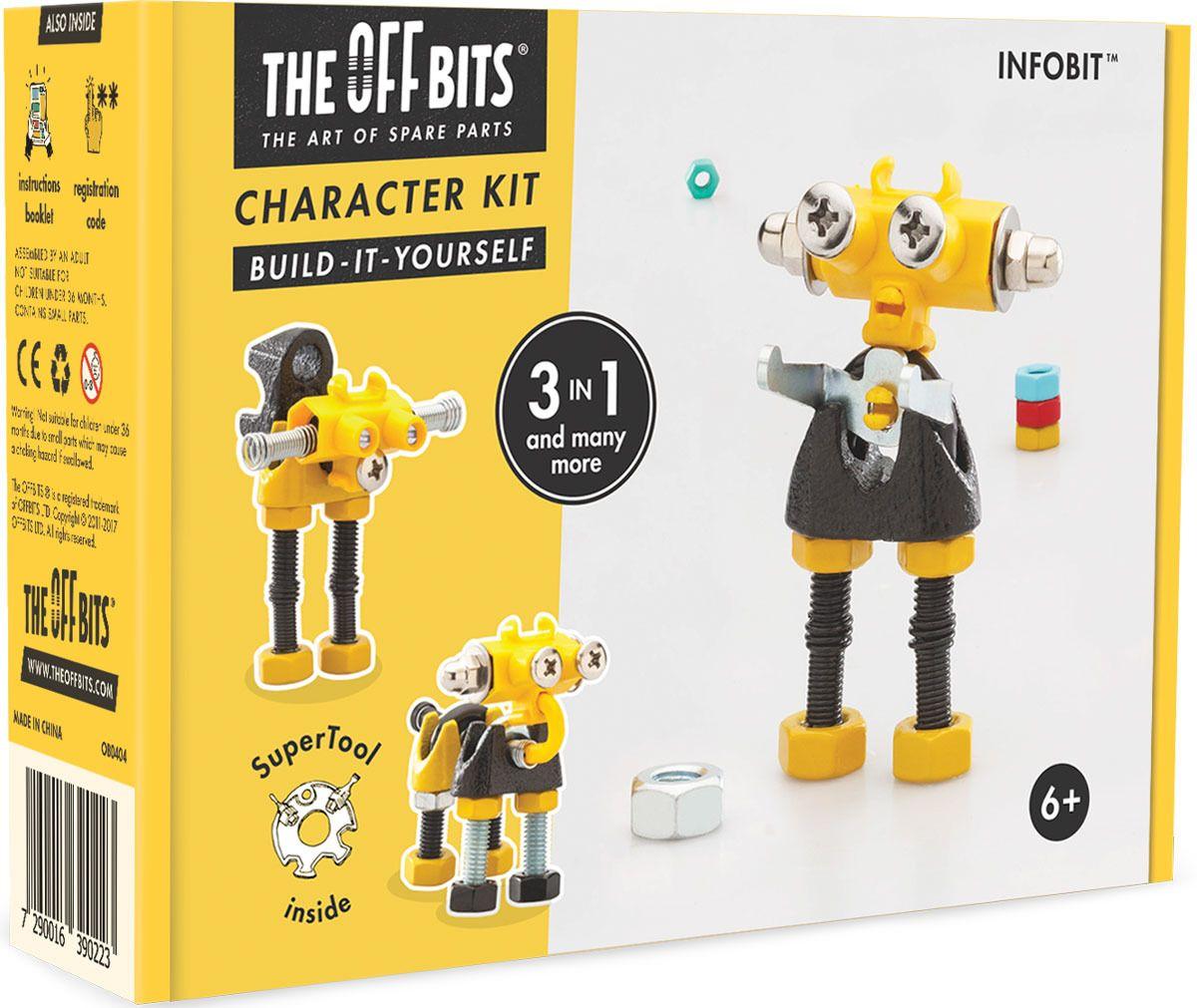 Купить Игрушка – конструктор The Offbits Infobit,
