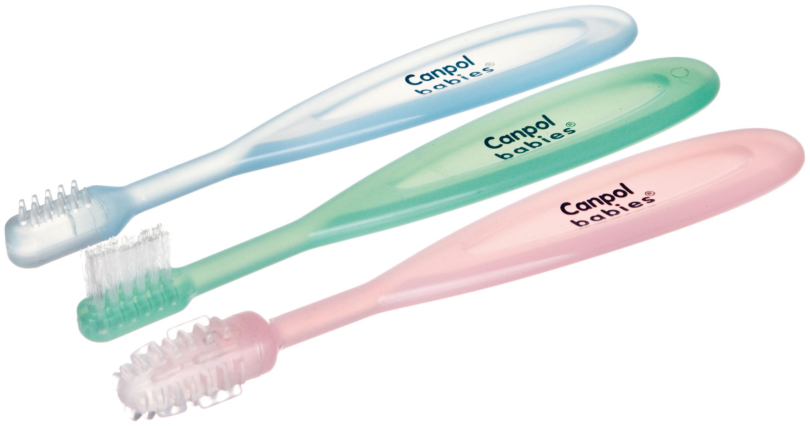 Набор детских зубных щеток Canpol Babies 2/421 3 шт