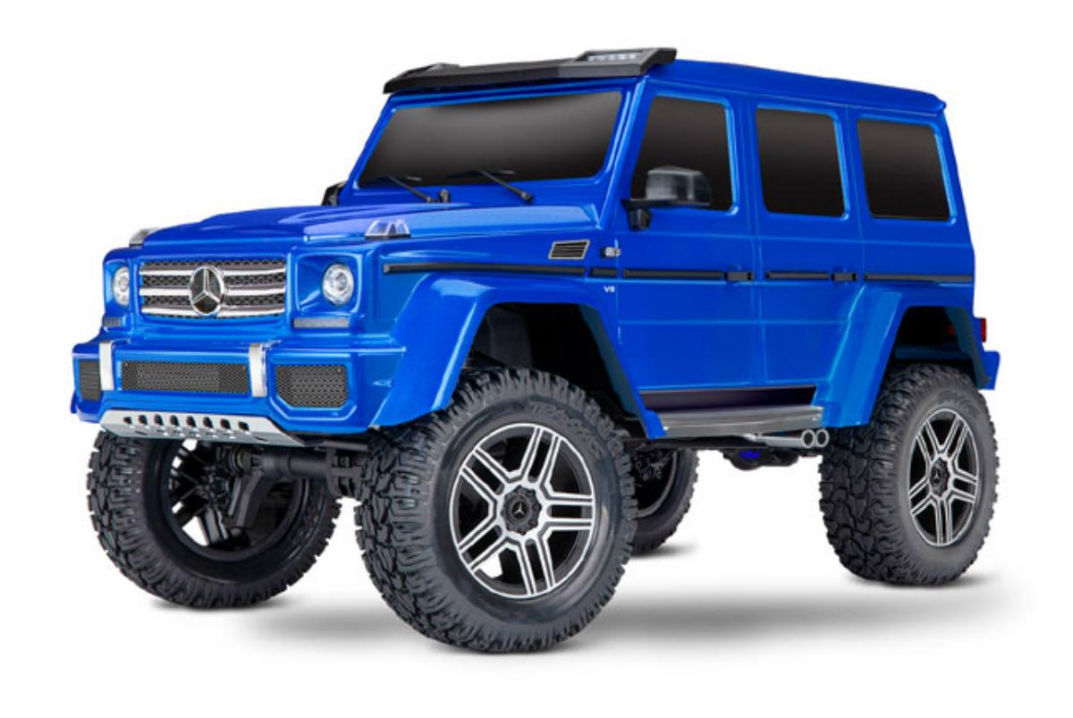 Купить Радиоуправляемая машинка TRAXXAS TRX-4 Mercedes G 500 1:10 4WD Scale & Trail Crawler,
