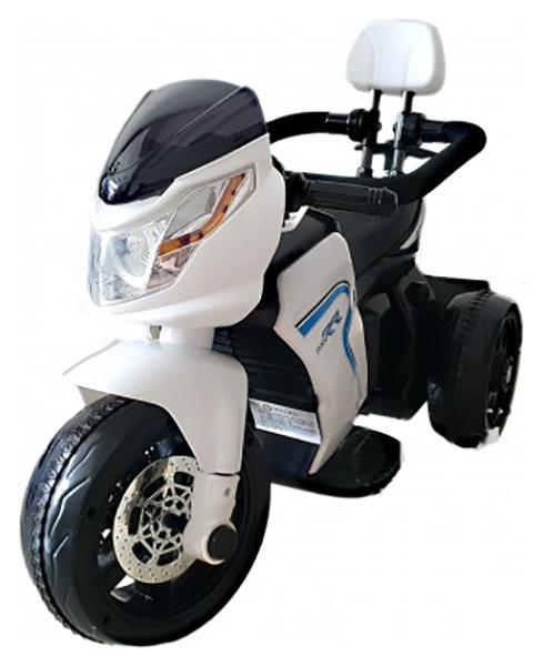 Детский электромотоцикл Jiajia HL 108 W Белый