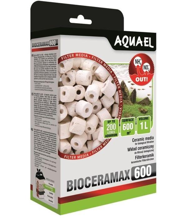 Наполнитель для внешних/внутренних фильтров Aquael BioCeramax Pro600 кольца