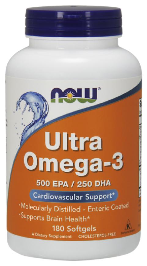 Купить Omega-3 NOW Ultra 500 Epa/250 Dha 180 капс.