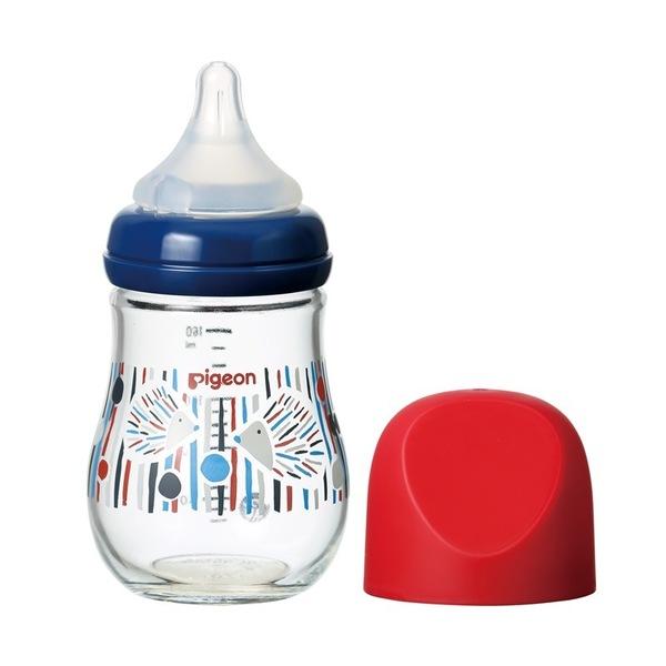 Купить Бутылочка для кормления Pigeon SofTouch Peristaltic Plus, 0+ , стеклянная, Ежик, 160 мл, Бутылочка для кормления Pigeon SofTouch Peristaltic Plus 0+ стеклянная Ежик 160 мл, Бутылочки для кормления