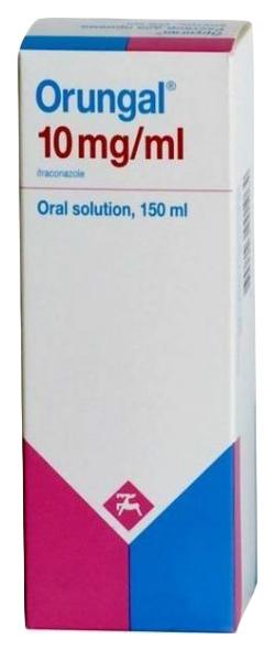 Орунгал раствор 10 мг/мл 150 мл
