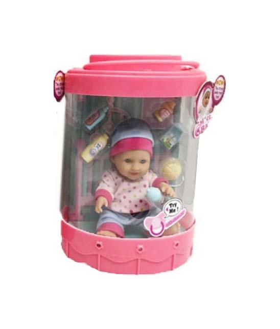 Купить Пупс Junfa 2801 15 см с аксессуарами, 2 вида в ассортименте, Junfa toys, Пупсы
