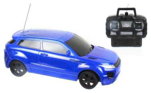 Радиоуправляемая машинка 1 Toy Спортавто Джип Т13830 Синий
