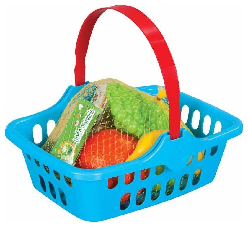 Купить Игрушечные кухни, Набор продуктов игрушечный Pilsan Корзина с фруктами, Игрушечные продукты