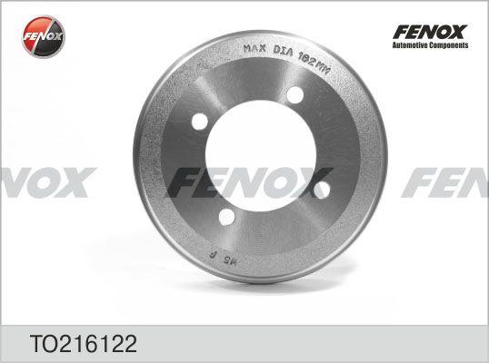 Тормозной барабан FENOX TO216122