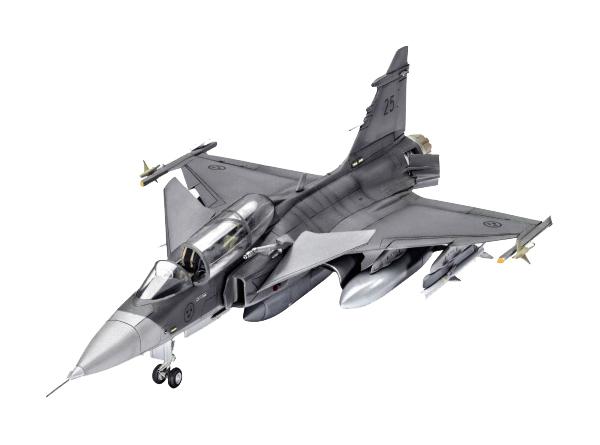 Купить Модель для сборки REVELL самолет SAAB JAS-39D REV63956, Модели для сборки