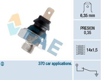 Датчик давления масла FAE 11410
