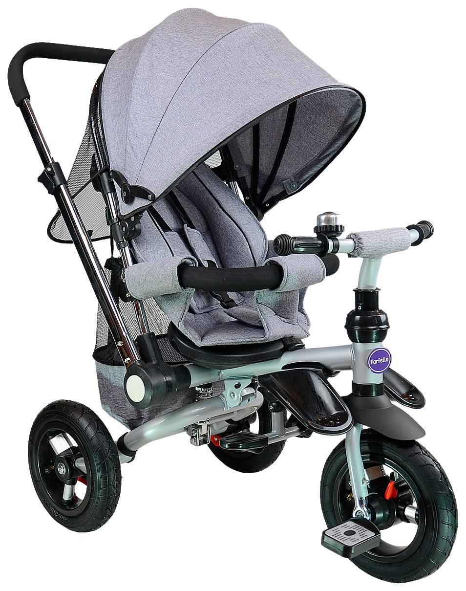 Купить Велосипед трехколесный Farfello TSTX011 лен серый, Детские велосипеды-коляски