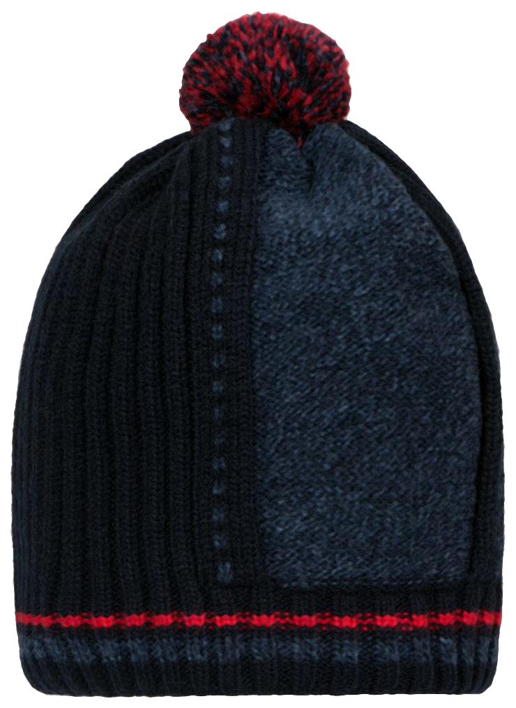 Купить W18B4002A(3), Шапка для мальчика Barkito, темно-синяя р.50-52, Детские шапки и шарфы