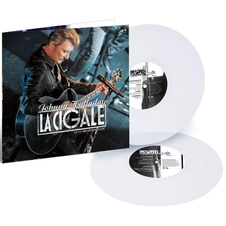 Виниловая пластинка Johnny Hallyday La Cigale 2006 (Limited Edition)(Clear Vinyl)(2LP), Медиа  - купить со скидкой