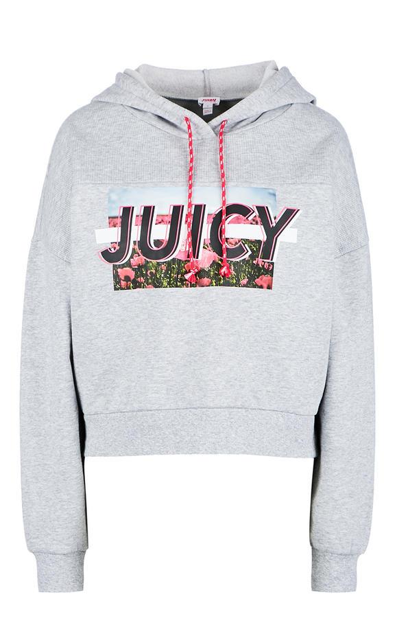 Толстовка женская Juicy by Juicy Couture серая 48 фото