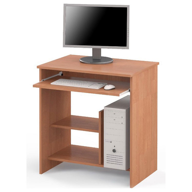Компьютерный стол Мебель Смоленск СК-01 MAS_SK-01-OS 70x50x75,6, ольха