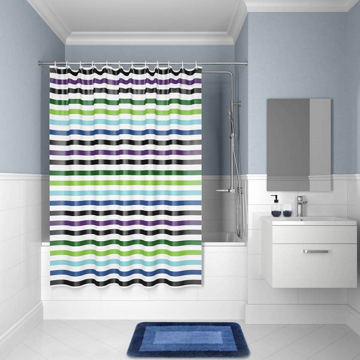 Штора для ванной комнаты IDDIS Promo P18P118i11