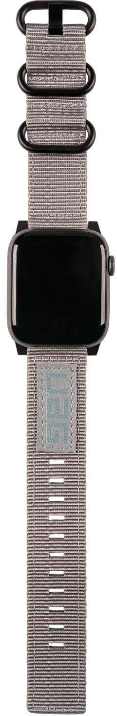 Ремешок Urban Armor Gear Nato для Apple Watch Series 2/3/4 42/44 mm Gray