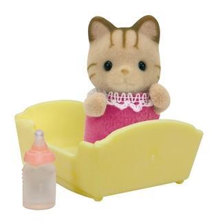 Купить Игровой набор sylvanian families малыш полосатый котёнок, Игровые наборы