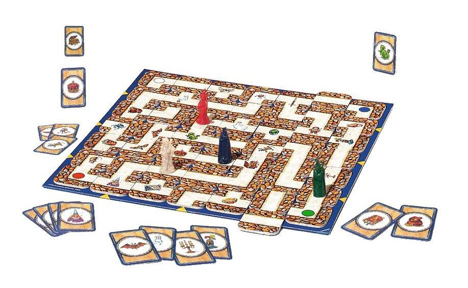 Купить Сумасшедший Лабиринт, Настольная игра сумасшедший лабиринт 26582, Ravensburger, Семейные настольные игры
