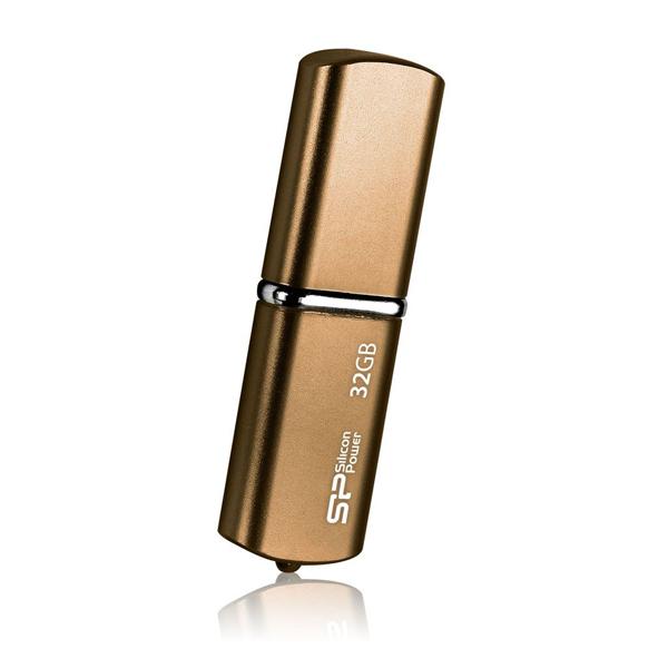 Флешка Silicon Power 32Gb LuxMini 720 Brown