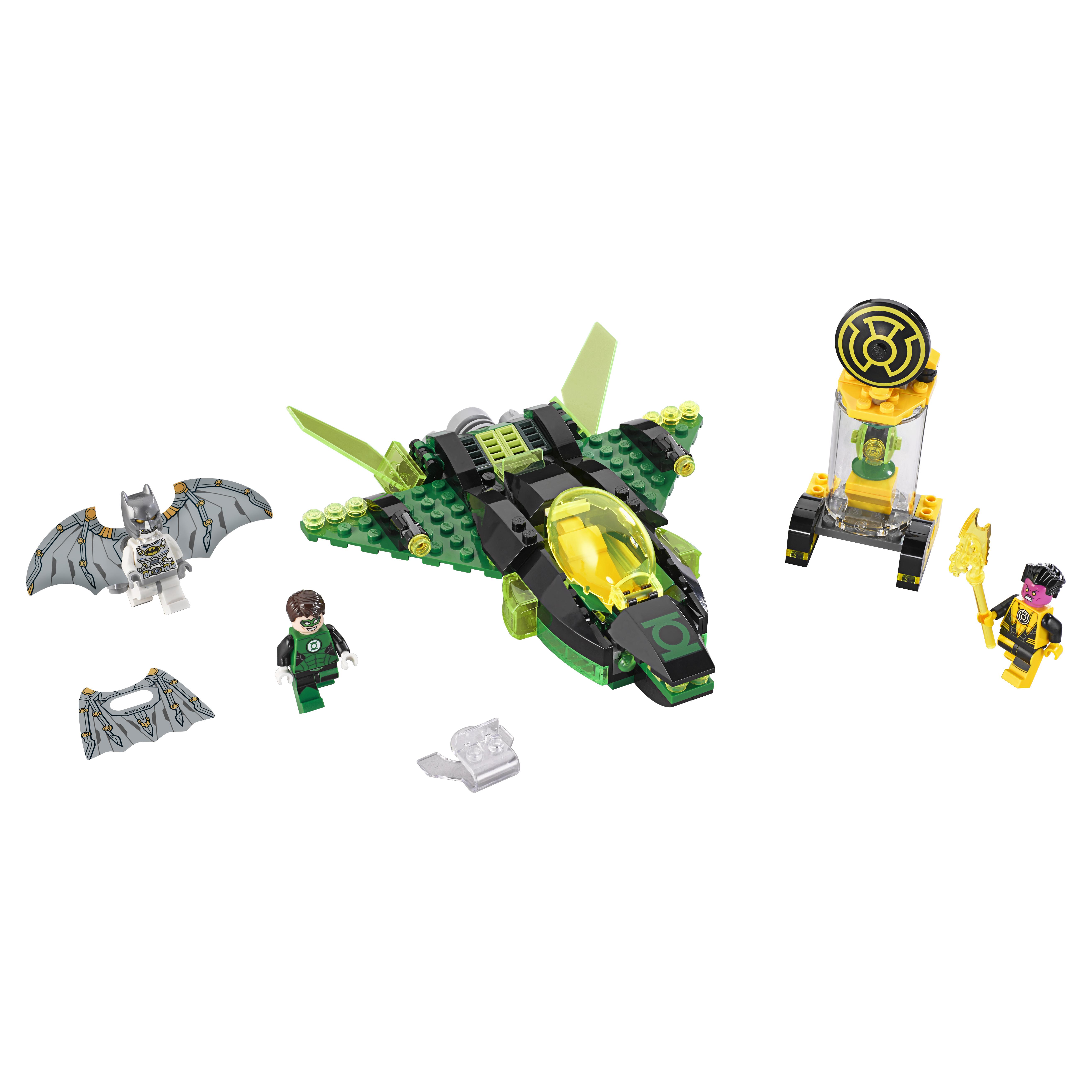 Конструктор LEGO Super Heroes Зеленый Фонарь против