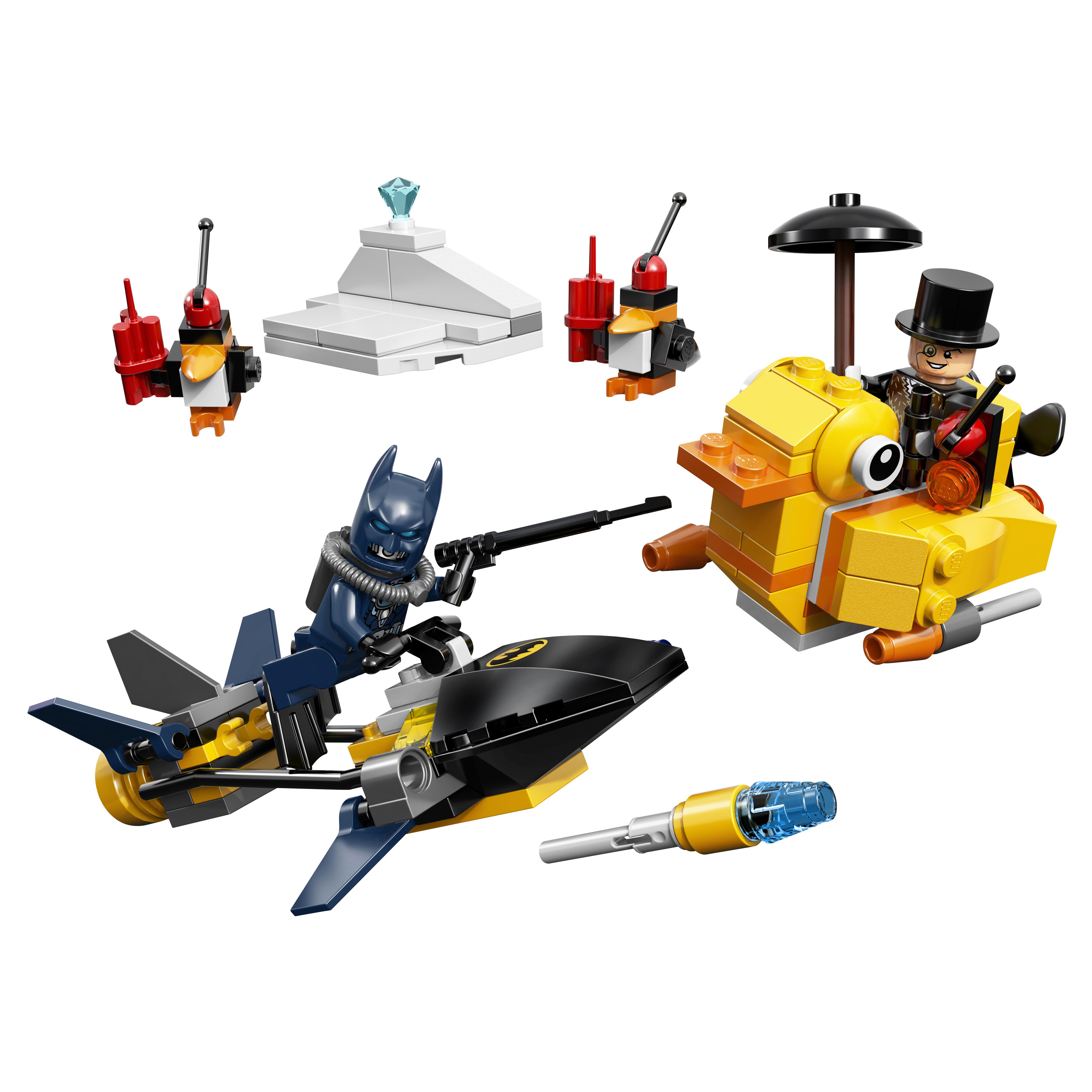 Конструктор LEGO DC Comics Super Heroes Бэтмен: Пингвинья Битва (76010) фото