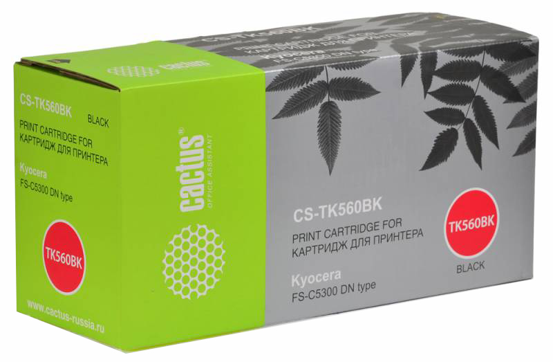 Картридж для лазерного принтера Cactus CS-TK560BK
