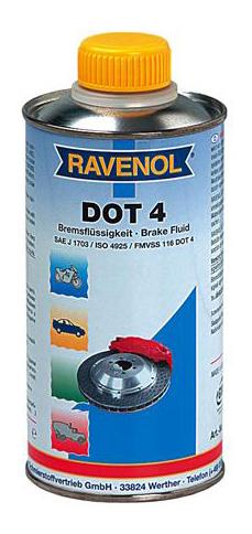 Тормозная жидкость RAVENOL DOT 4 0.5л 1350601-500-05-000