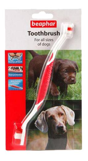 Зубная щетка для животных Beaphar, двойная