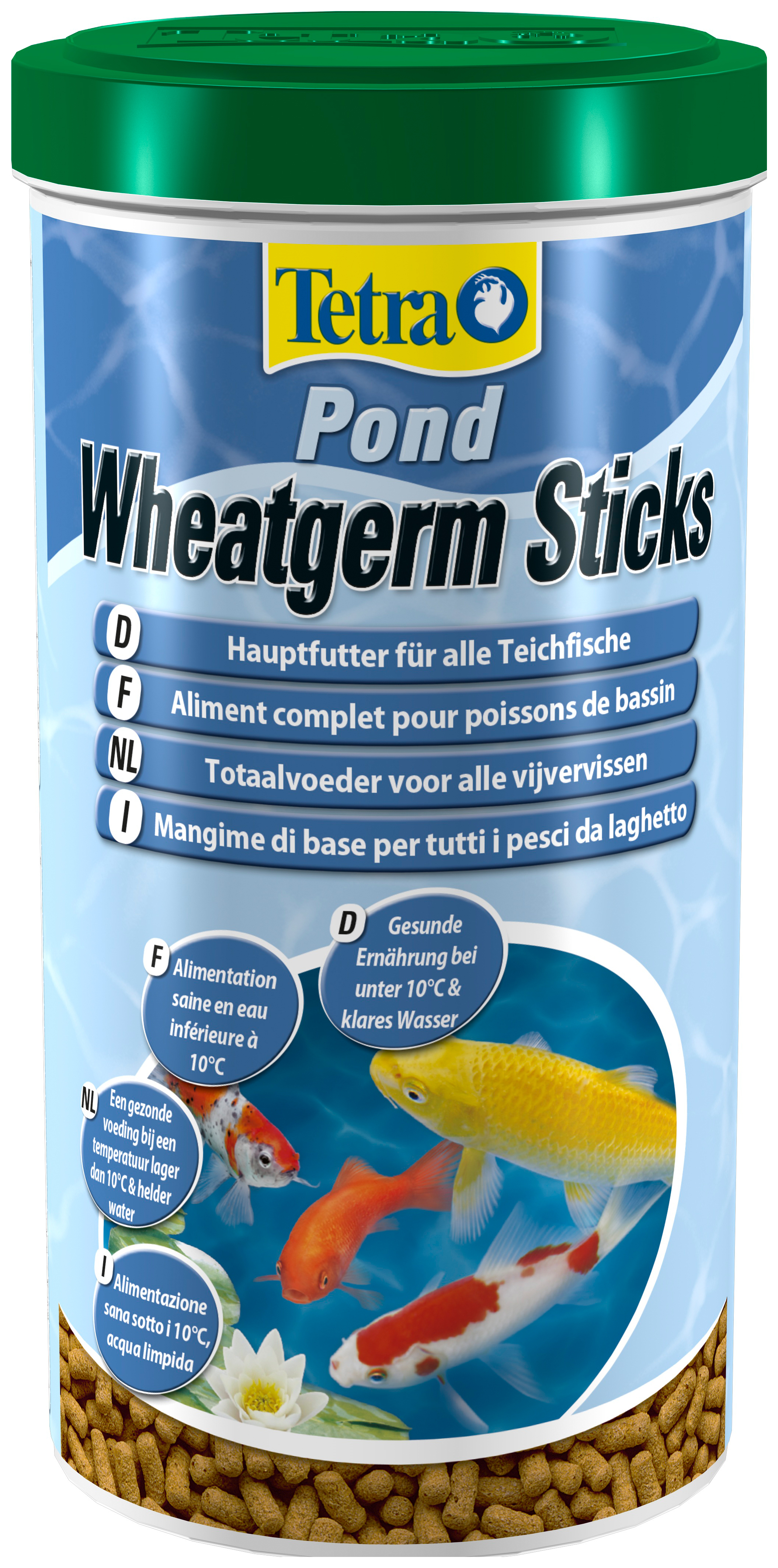 Корм для прудовых рыб Tetra Pond Wheatgerm Sticks,