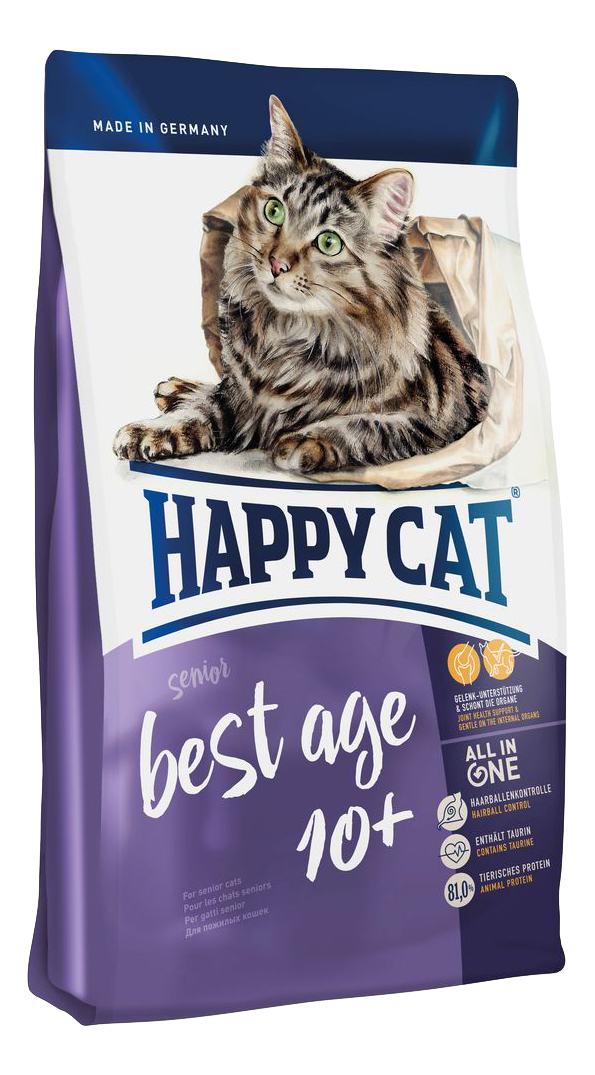 HAPPY CAT FIT #AND# WELL BEST AGE 10+ SENIOR