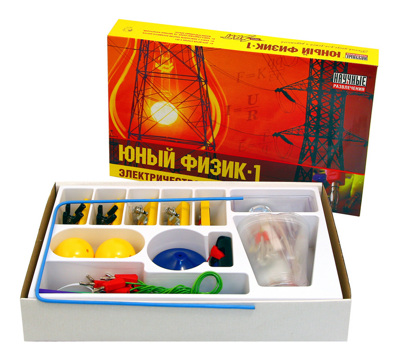 Набор для исследования Научные развлечения Юный физик-1. Электричество фото