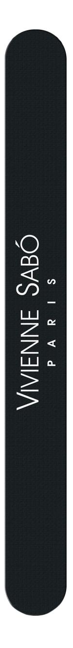 Пилка для ногтей Vivienne Sabo двухсторонняя полировочная