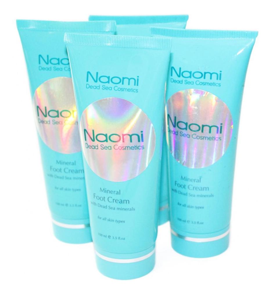 Крем для ног Naomi с минералами Мертвого моря для всех типов кожи 100 мл