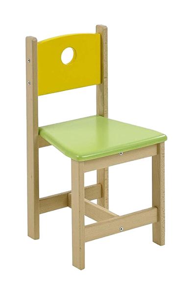 Купить Стул детский игровой Geuther Pepino Натуральный/Цветной, Детские стульчики