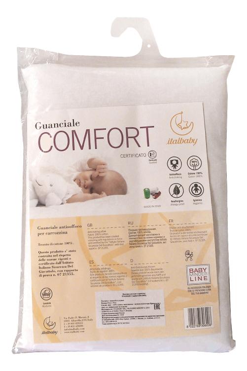 Подушка детская Italbaby Comfort 23х32 белый